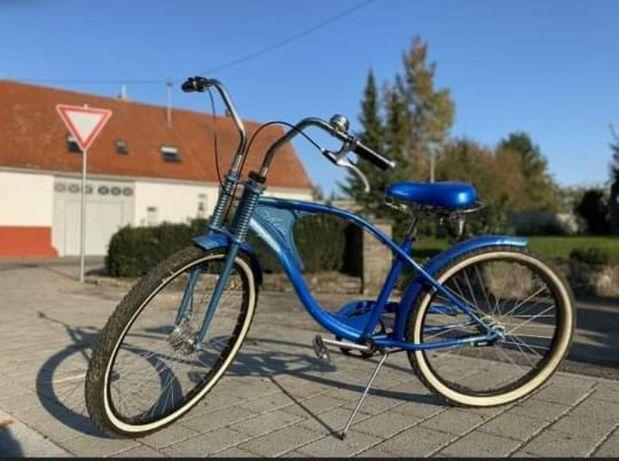 Rower retro.    . Koła 24