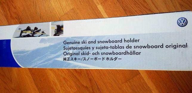 Uchwyt na narty,snowboard VW
