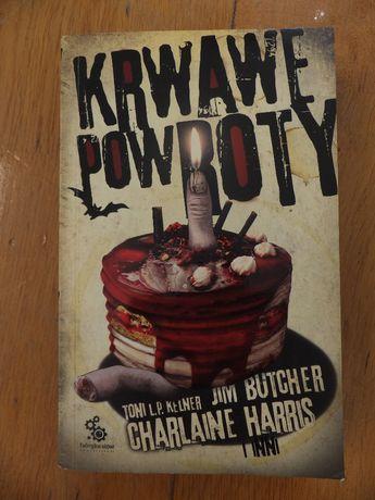 Książka KRWAWE POWROTY Toni L.P. Kelner Charlaine Harris