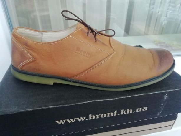 Туфли мужские Broni, 43 р.
