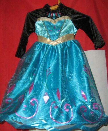 Маскарад платье для девочки Хеллоуин принцесса Дисней от 2 до 6 лет