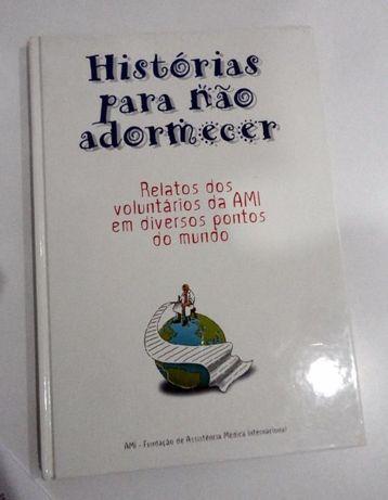 Livro Histórias para Não Adormecer, da AMI