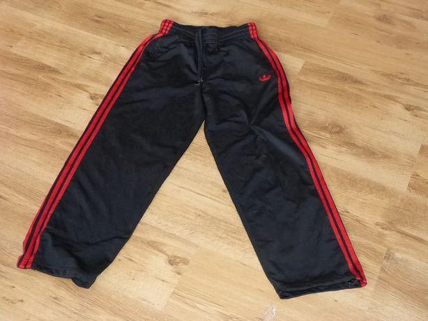 Adidas Odschoolowe Śliskie Spodnie Męskie L