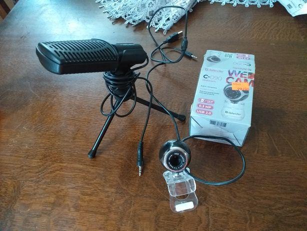 Kamera i mikrofon do zdalnego