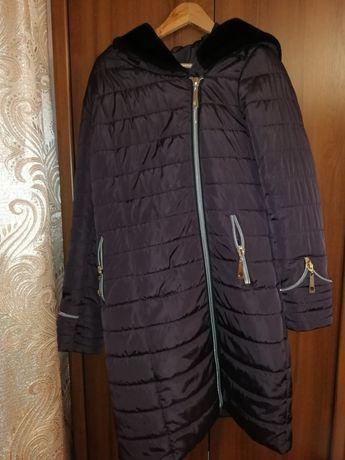Куртка - пальто, зимняя и тёплая