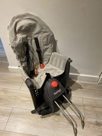 Fotelik rowerowy Hamax Siesta Premium szary