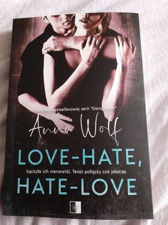 Książka love - hate