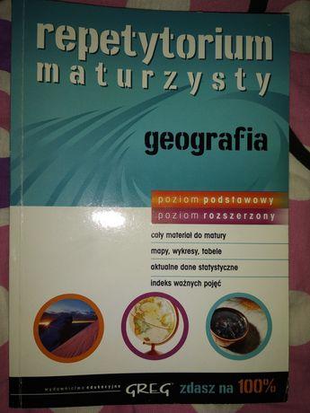 Matura geografia, repetytorium maturzysty.
