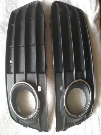 Ауді А4 б8 Ришітка в бампер ,підфарника (права ліва ) оригінальна