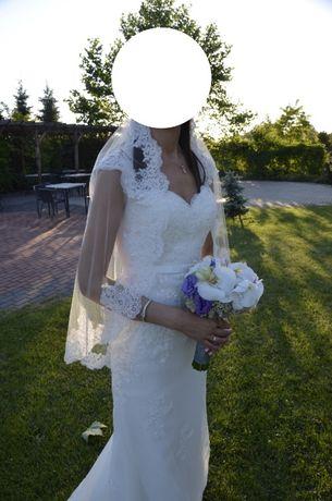 przepiekna suknia ślubna z Barcelony White One biel naturalna 92/69/98