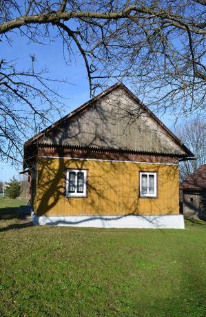 Dom w Bieszczadach do zamieszkania, działka 42 ary, łatwy dojazd