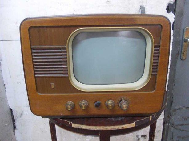 Zabytkowy telewizor Philips vintage