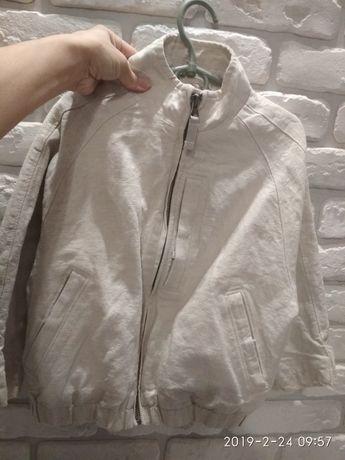 Ветровка с подкладкой ,пиджак ляной Gap