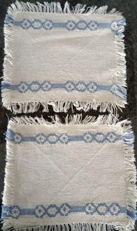 Oferta de portes-Naperons/Bases de copos/Pano tab. bordado Madeira