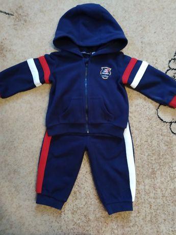 Детский флисовый спортивный костюм
