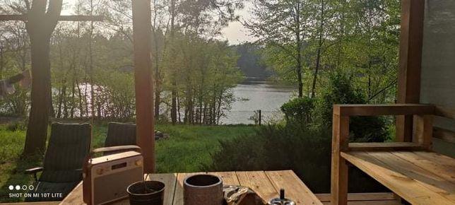 Działka Janoszyce, dostęp do jeziora