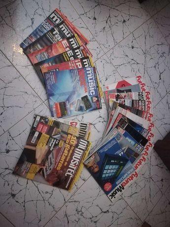 Lote de revistas Future Music, Musitec, Computer Music