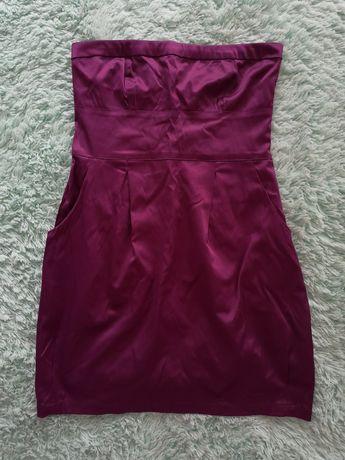 Sukienka bez ramiączek (Stradivarius) r.M