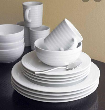 SPAL ROULETTE - Serviço Porcelana Fina Branca(Venda Avulso) - NOVO