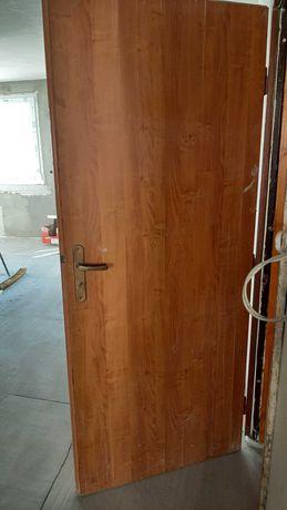 Drzwi wewnątrzklatkowe jasny brąz 197.5x82cm
