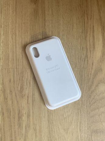 Apple etui case iphone x/xs biały