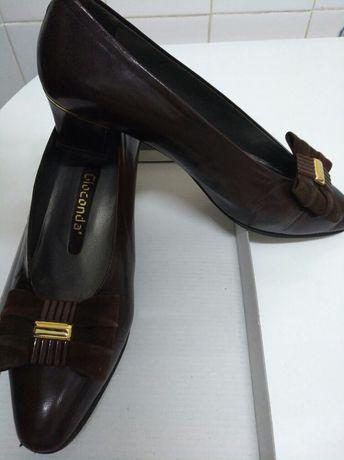 Sapatos pele 38 (NOVO)