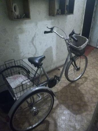 Продам трёх колесный велосипед для взрослых