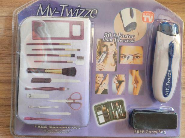 Универсальный женский эпилятор триммер wizzit с оргнабором для маникюр