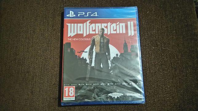 Wolfenstein II 2 Ps4 PL Nowa