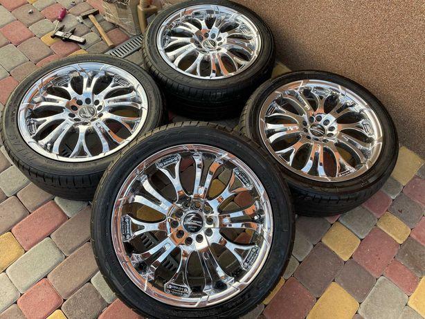 Тітанові діски Baracuda 5*100*112 R17 Mercedes -Audi-Scoda-VW-Seat
