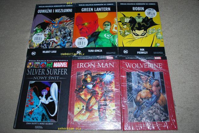 Wielka Kolekcja Komiksów Mervela / DC Comics Superbohaterowie Marvela