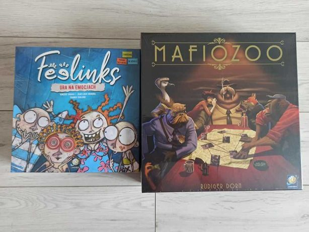 Feelinks i Mafiozoo - Pakiet dwie nowe zafoliowane gry planszowe