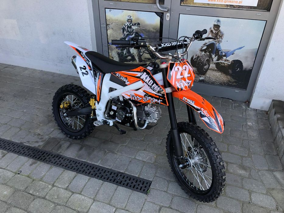 Cross/Pitbike 612 PRO 125cc koła 14'/17' KXD Gniezno - image 1