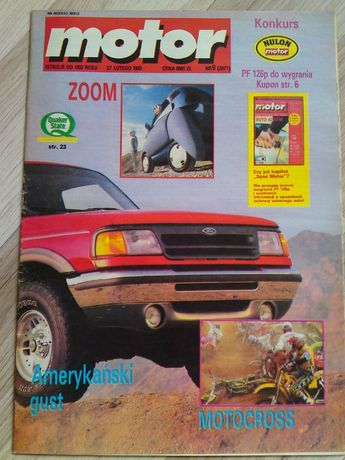 Tygodnik Motor Nr 9/93