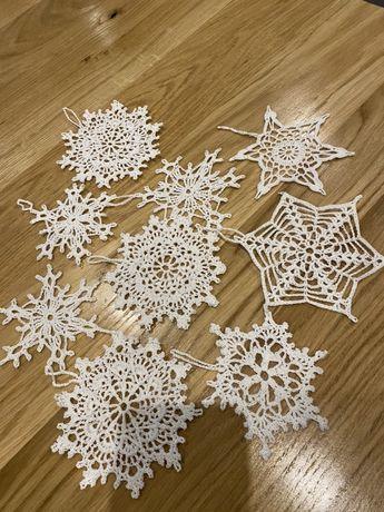 Gwiazdki na szydełku - różne wzory, rozmiary