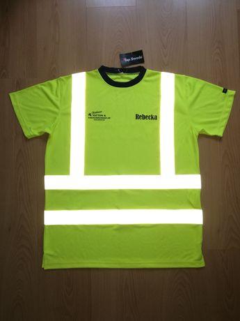 Koszulka TOP SWEDE roz.M , t-shirt , ostrzegawcza, odblaski