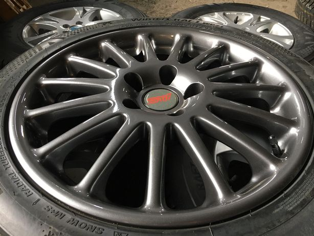 нові диски R17 Subaru STI 5*114.3, dia56.1, ET53 на Impreza, SVX, WRX