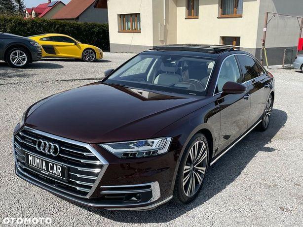Audi A8 OLED Laser Os Skrętna TV DVD Masaze Wentyle BangOlufsen 2x Szyberdach