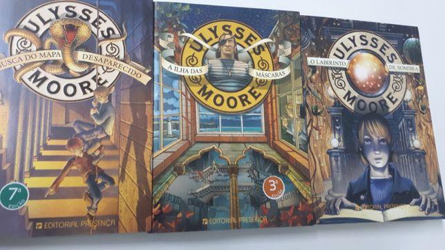 Ulysses Moore 3 volumes