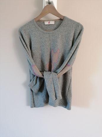 Sweter, kaszmir 100 %, rozm. S