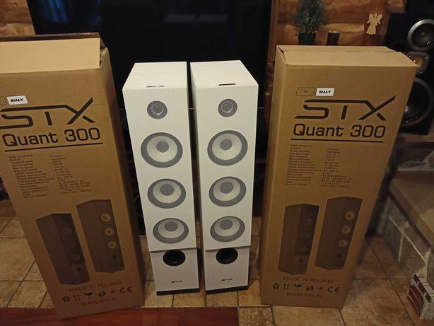 Kolumny podłogowe STX Quant 300 BIAŁE!