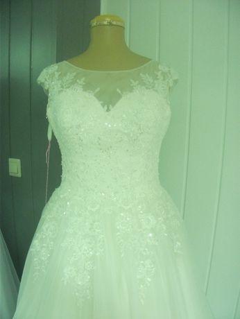 Suknia Ślubna ekri 38