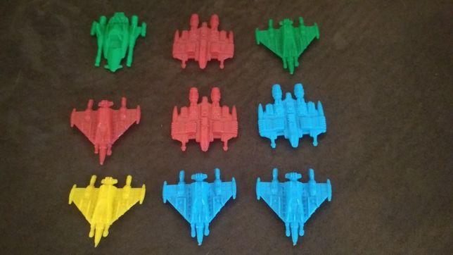 Naves monocromáticas Starship Troopers