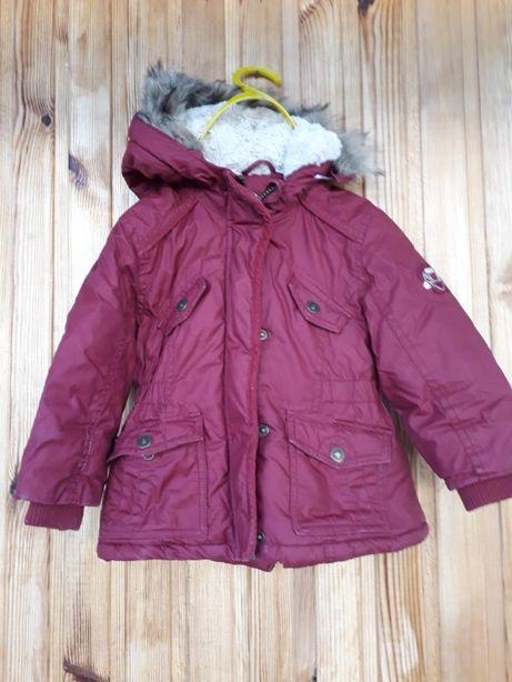 Теплая зимняя куртка C&A на рост 92