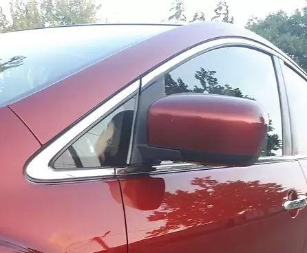 Зеркало левое Mazda CX-7 CX 7 2008 USA, 5 pin, цвет: 32v оригинал