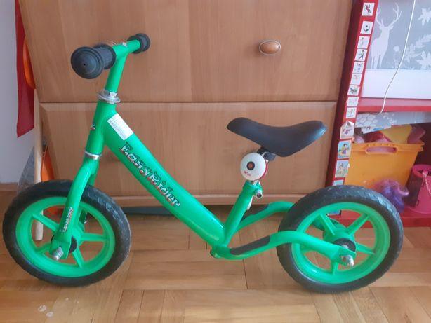 Rowerek biegowy zielony