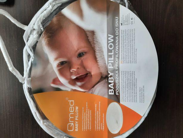 Poduszka ortopedyczna na płaską główkę dla niemowląt