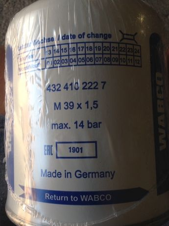 Продам элемент осушителя воздуха (адсорбер) Wabco 4324102227