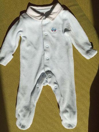 Мягкий вельветовый человечек для новорожденного в идеале
