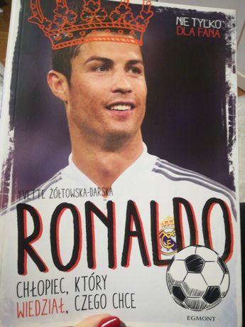 """Biografia Ronaldo dla dzieci """"Ronaldo chłopiec który wie czego chce"""